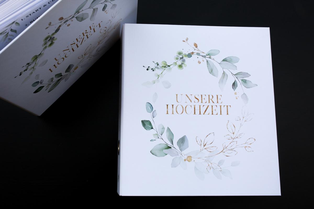 Mein Hochzeitsordner - Der perfekte Hochzeitsplaner
